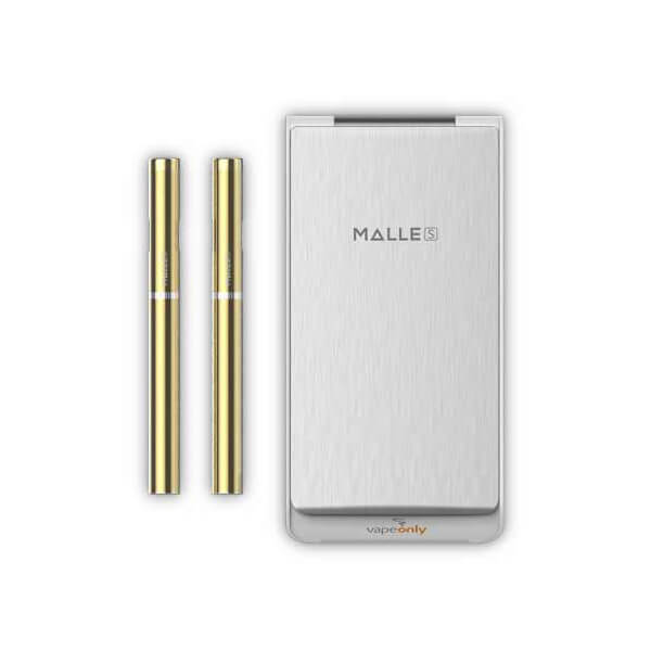 Elektronická cigareta Vapeonly Malle PCC, 0,8ml, 180mAh + PCC 2250mAh, zlato-bílá
