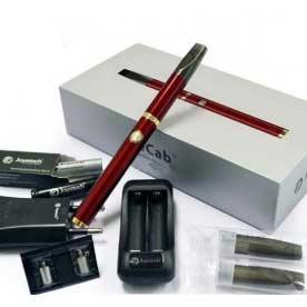 Elektronická cigareta Joyetech eCab, 360 mAh, červená, 1ks