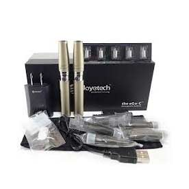 Elektronická cigareta Joyetech eGo-C, 1000 mAh, Titan, 2ks