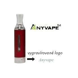 Clearomizer Anyvape EVOD BCC, 2,2ohm, 1,6ml, červená