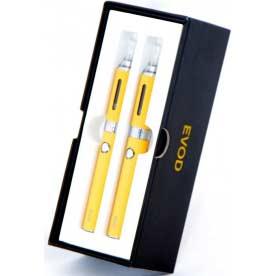 Elektronická cigareta Kangertech EVOD, 650 mAh, Žlutá, 2ks