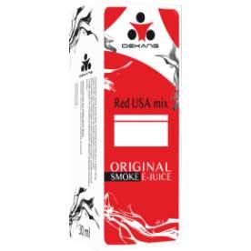 E-liquid Dekang Red USA MIX, 10ml, 0mg