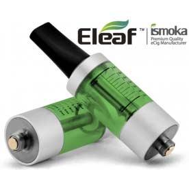 Mega BCC ismoka-Eleaf Clearomizer, zelená-stříbrná, 2.2ohm, 3.5ml