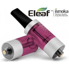 Mega BCC ismoka-Eleaf Clearomizer, červená-stříbrná, 2.2ohm, 3.5ml