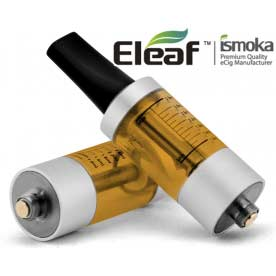 Mega BCC ismoka-Eleaf Clearomizer, žlutá-stříbrná, 2.2ohm, 3.5ml