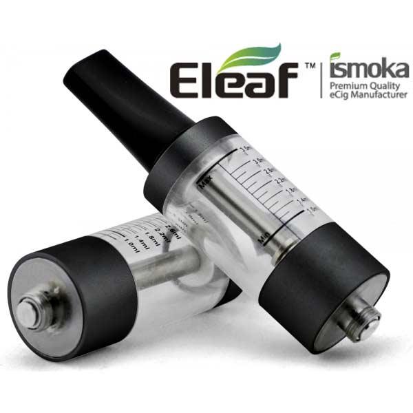 Mega BCC ismoka-Eleaf Clearomizer, čirá-černá, 2.2ohm, 3.5ml
