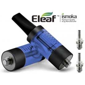 Mega BCC ismoka-Eleaf Clearomizer, SADA, 3.5ml, modrá-černá