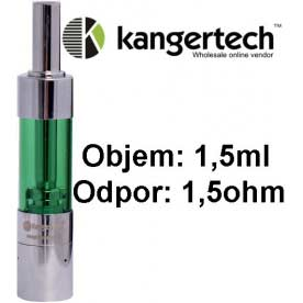 Mini Protank 3 Kangertech clearomizer, 1.5ml, zelená