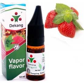 E-liquid Dekang SILVER Jahody s mátou