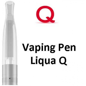 Liqua Q Vaping Pen clearomizer, 1.8ohm, 2ml, bílá