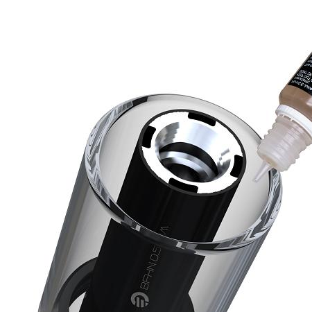 Plnění e-liquidem elektronické cigarety Joyetech eGo AIO ECO