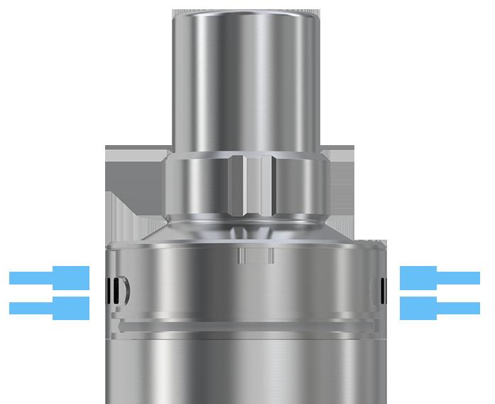 Regulace přívodu vzduchu clearomizeru Joyetech CUBIS Pro mini