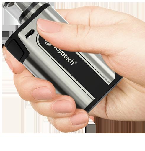 Malé rozměry Joyetech CuBox Grip