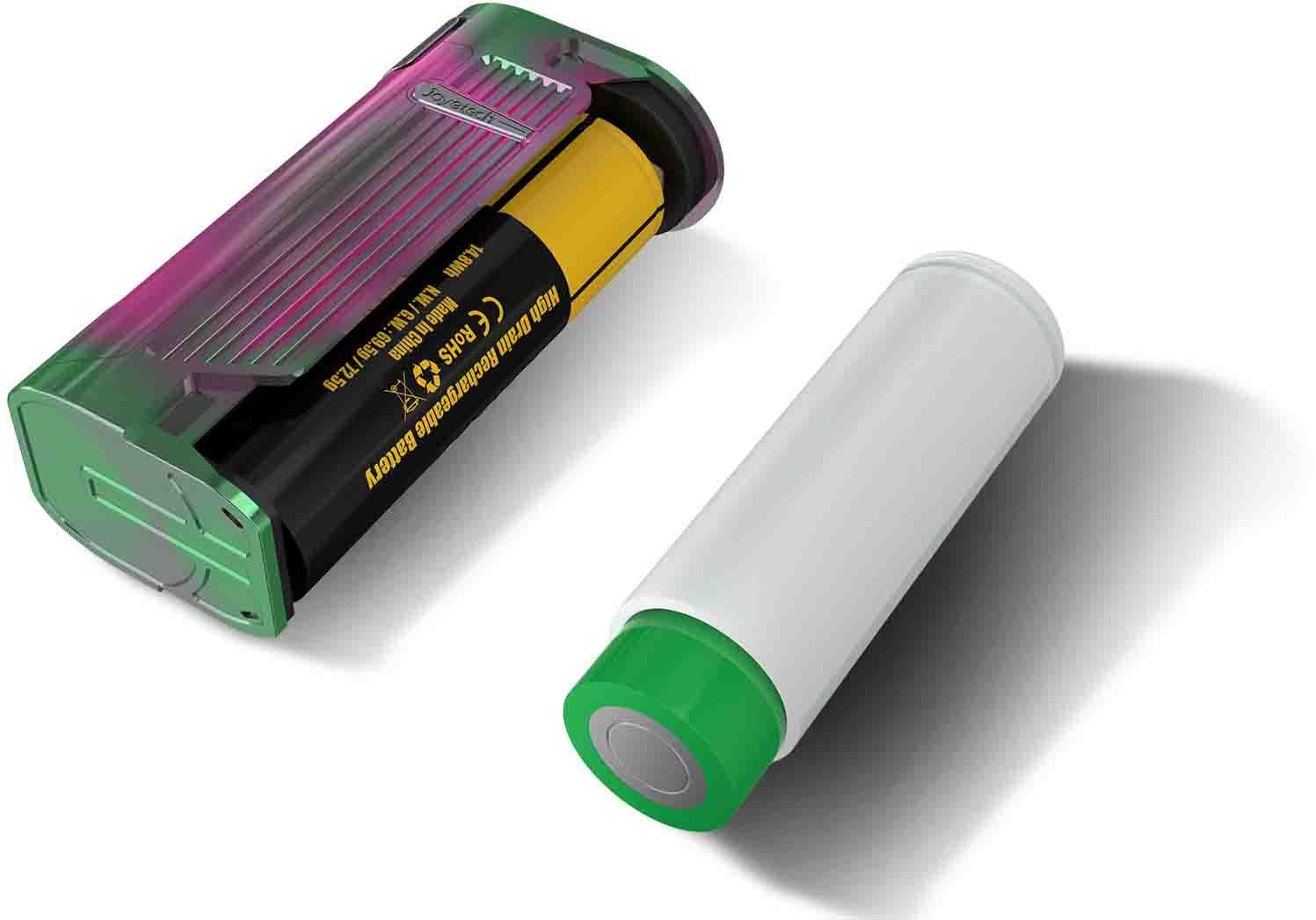 Kompatibilní s bateriemi 21700 a 18650 Joyetech ESPION Solo 80W