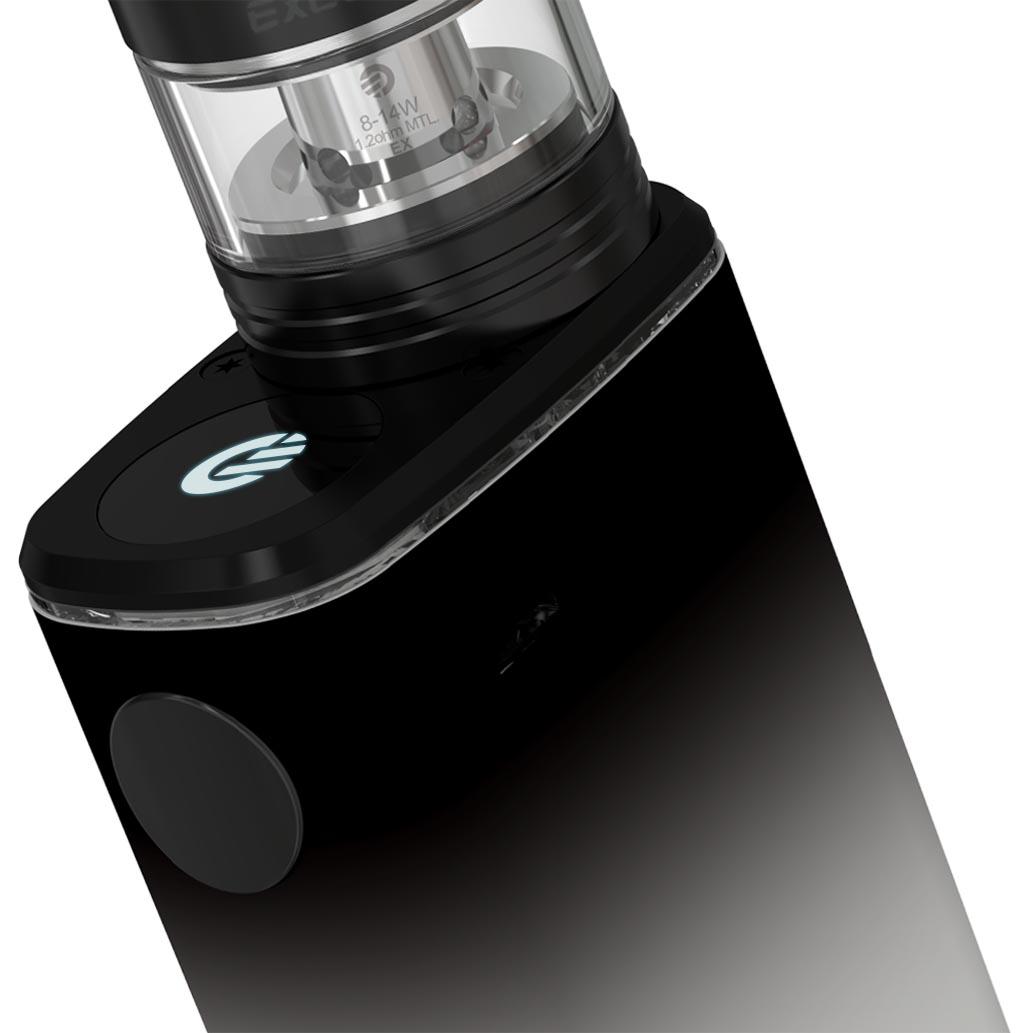 Změna režimu elektronické cigarety EXCEED BOX s clearomizerem Joyetech EXCEED D22C