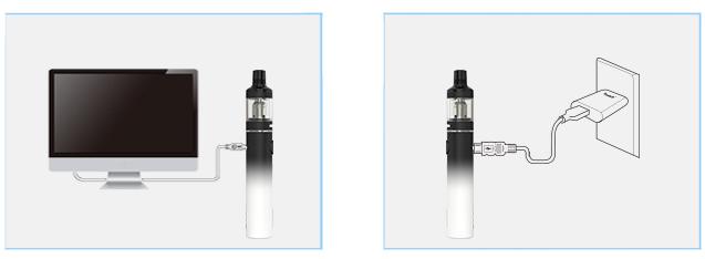 Nabíjení elektronické cigarety Joyetech Exceed D19