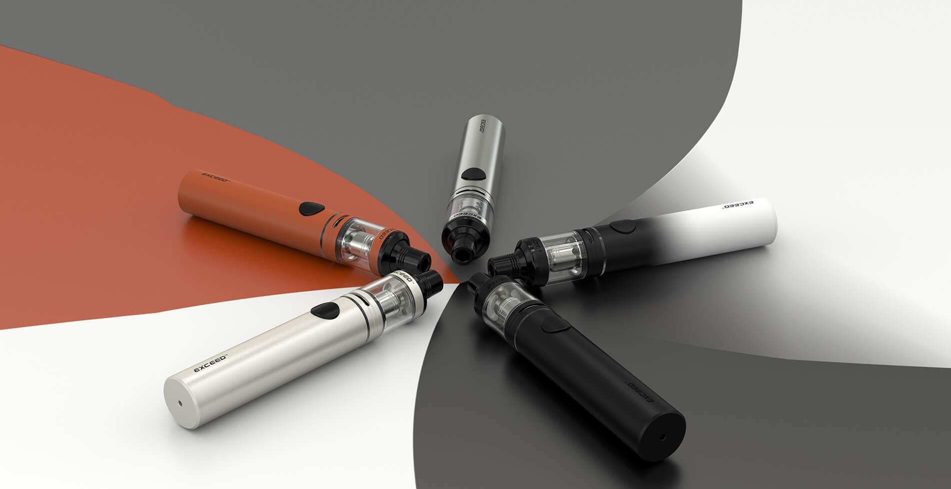 Barevné variace elektronické cigarety Joyetech Exceed D19