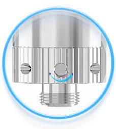Regulace přívodu vzduhu clearomizer iSmoka-Eleaf GS AIR