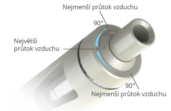 Regulace přívodu vzduchu Joyetech eGo AIO