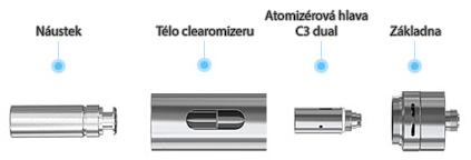 Clearomizér Joyetech Delta 19