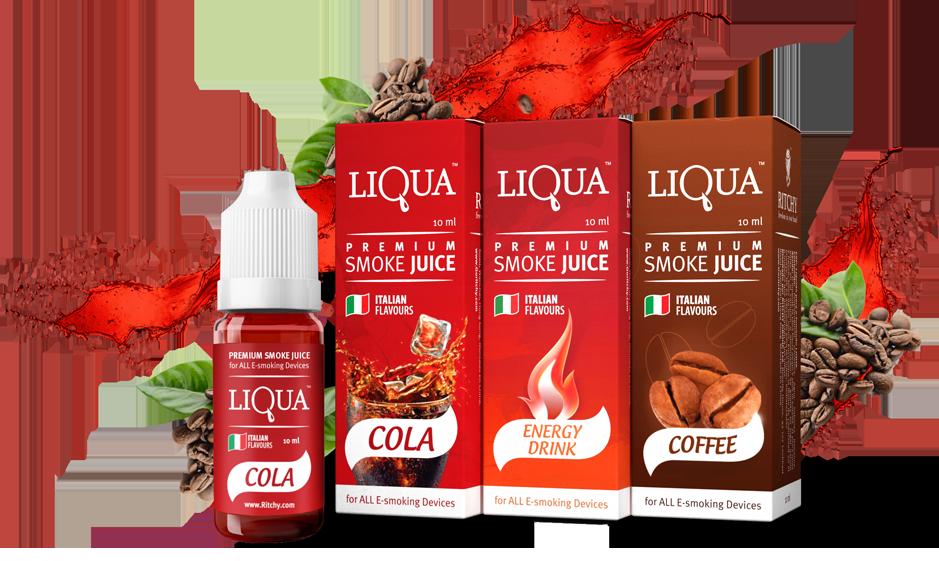 E-liquid LIQUA, náplně do elektronických cigaret
