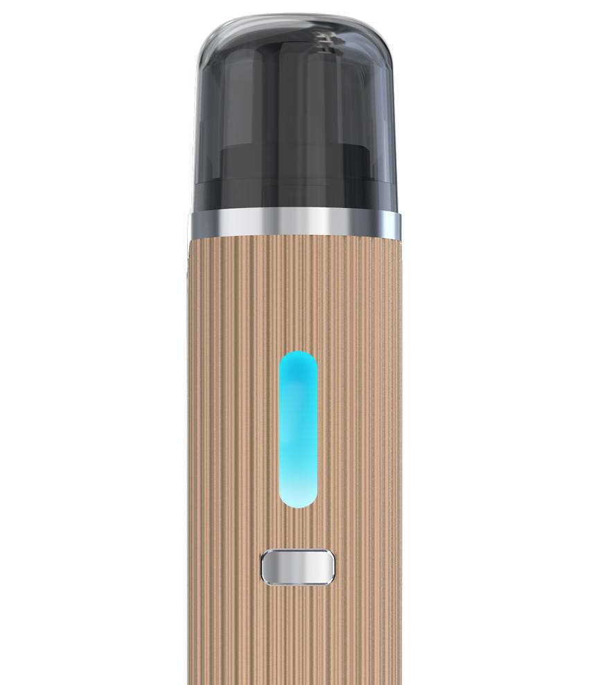 Plnění e-liquidem elektronické cigarety Joyetech eGo AIO Mansion