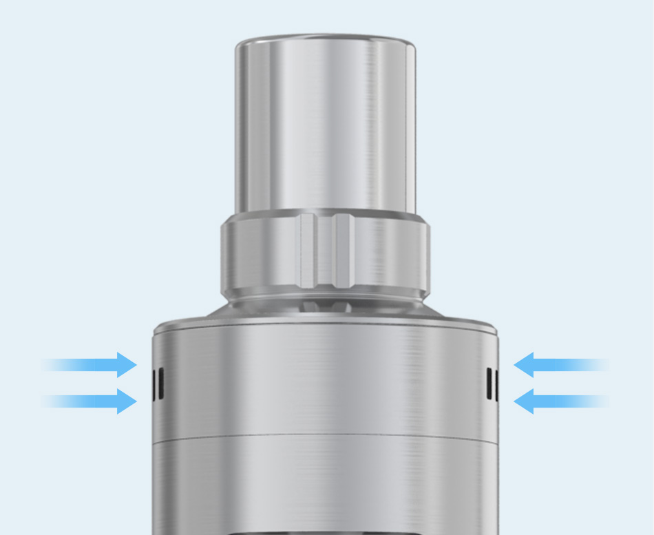 Regulace přívodu vzduchu elektronické cigarety Joyetech eGo AIO Pro C