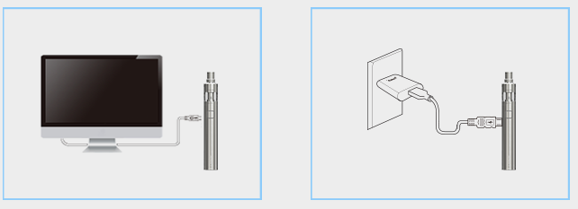 Nabíjení elektronické cigarety Joyetech eGo Mega Twist+