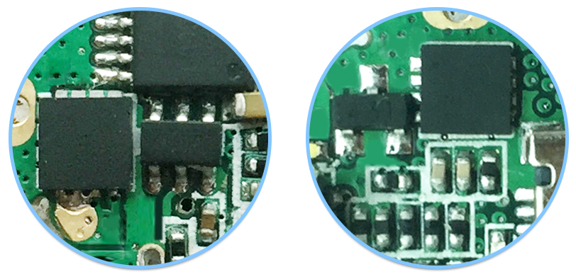 Ochrana baterie elektronické cigarety Joyetech Exceed D19