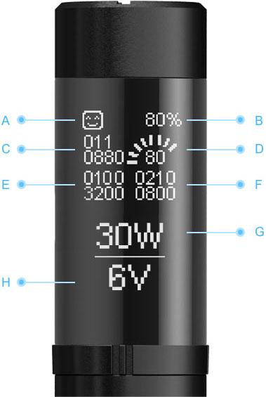 elektronická cigareta 510CC
