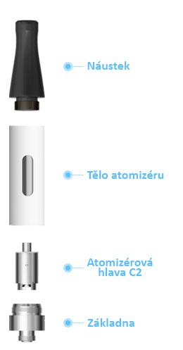 elektronická cigareta eCom-C