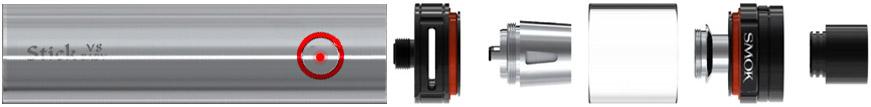 Komponenty elektronické cigarety Smoktech Stick V8 Baby