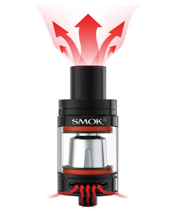 Přívod vzduchu elektronická cigareta Smoktech Stick V8 Baby