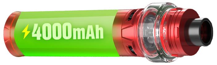 Kapacita bateri elektronické cigarety SMOKTECH Stick V9 MAX