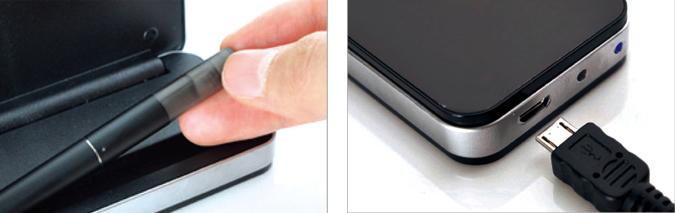 Elektronická cigareta eRoll - návod na použití