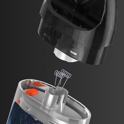 Přívod vzduchu - Vaporesso Podstick - elektronická cigareta