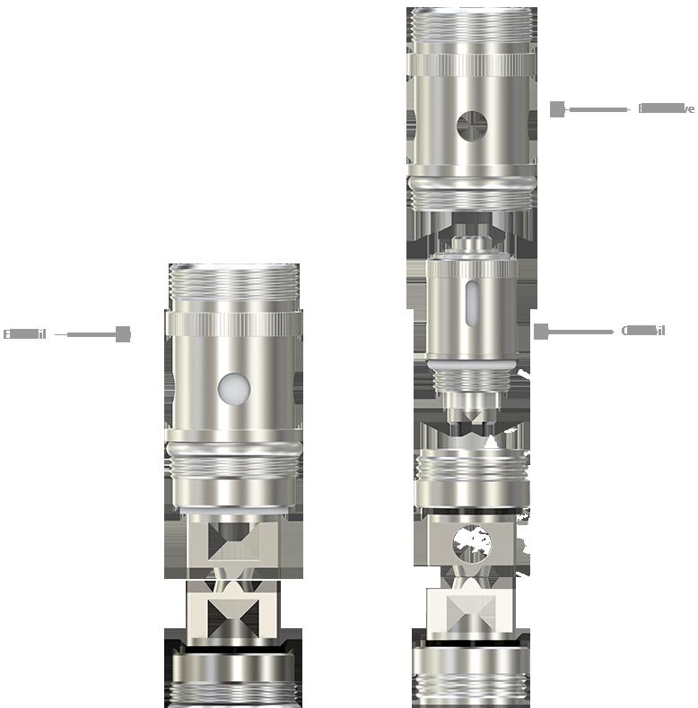 Regulace přívodu vzduchu clearomizeru iSmoka-Eleaf iJust ONE