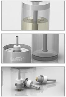 clearomizér iSmoka-EleaF Mega BCC, clearomizér iSmoka-EleaF Mega BCC pro elektronicke cigarety a baterie 510