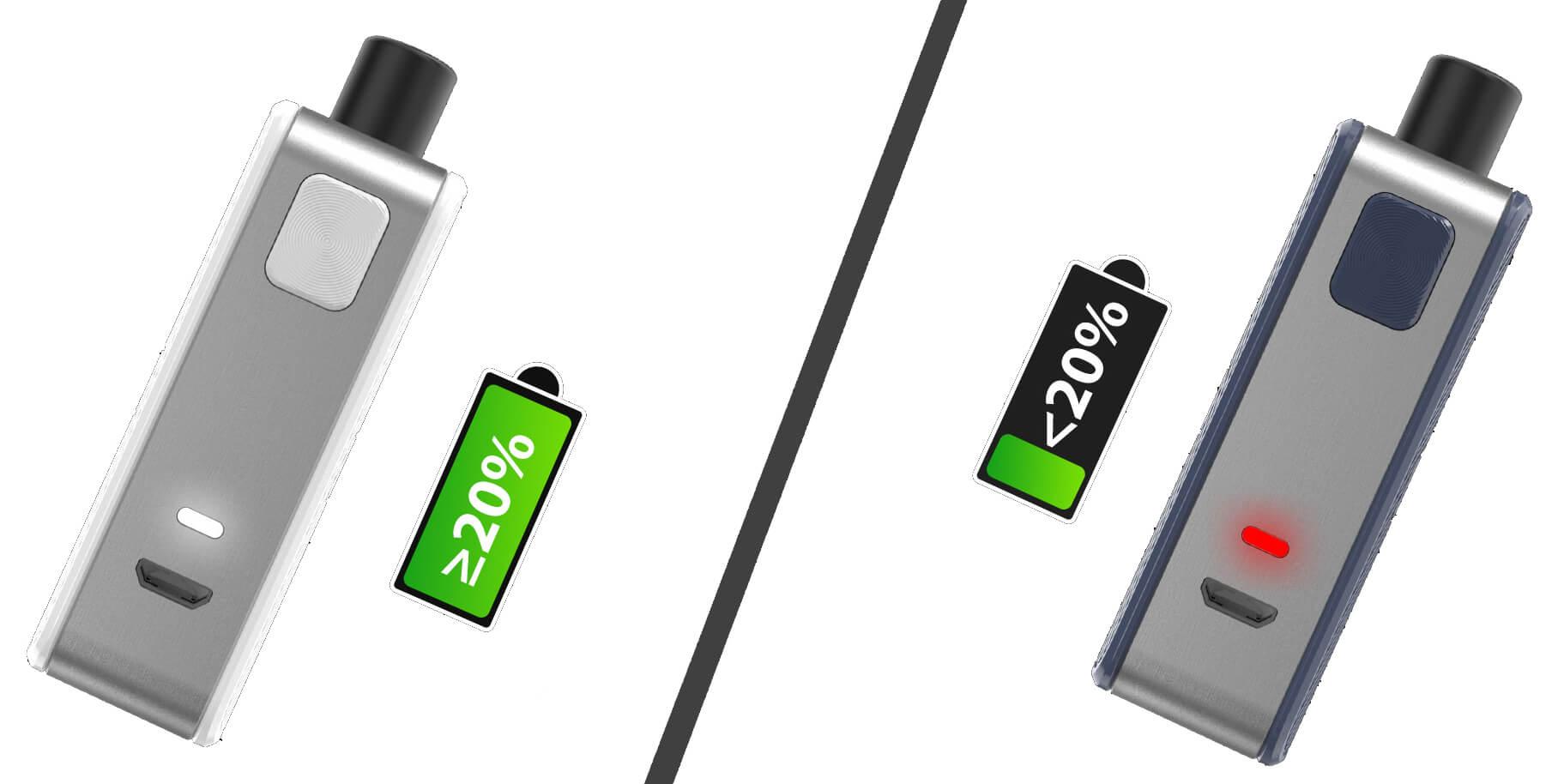 Joyetech Exceed Grip s indikací stavu baterie