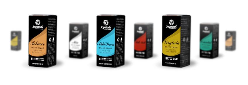 E-liquid Joytech, náplně do elektronických cigaret