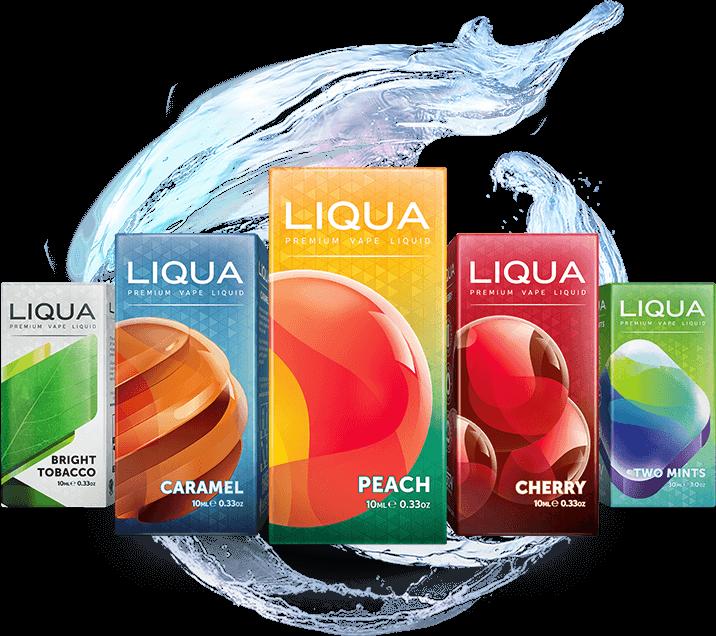 Nové e-liquidy Liqua Elements