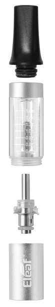 clearomizér iSmoka-EleaF Mini BCC, clearomizér iSmoka-EleaF Mini BCC pro elektronicke cigarety a baterie eGo