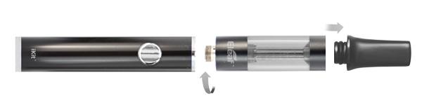 Složení elektronické cigarety iSmoka-Eleaf iKit