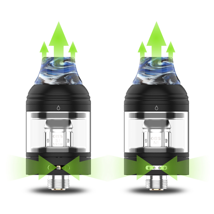 Grip OBS Cube mini s regulací přívodu vzduchu
