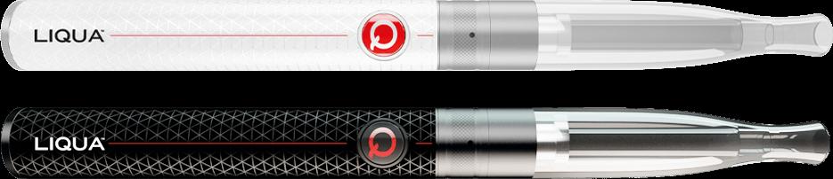 Elektronická cigareta bílá a černá Liqua Q Vapnig Pen