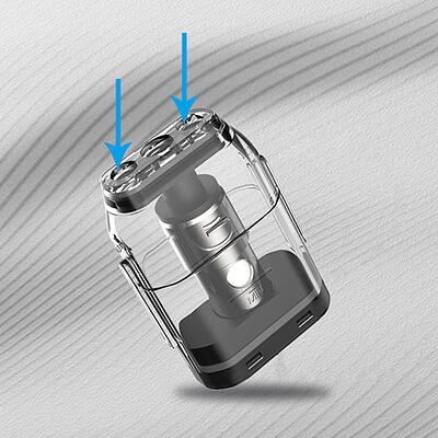 Plnění - Uwell Caliburn - elektronická cigareta