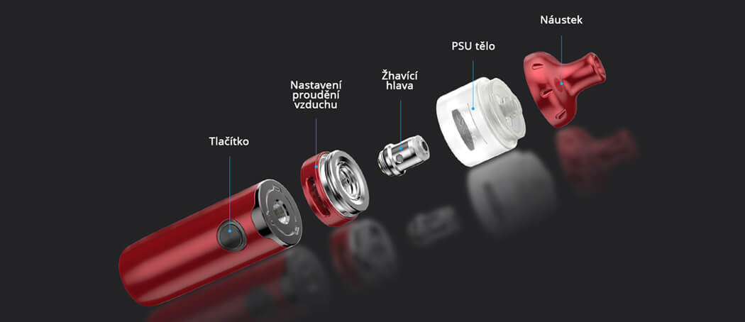 Popis - Vandy Vape Berserker S - elektronická cigareta