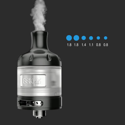 Přívod vzduchu - Vandy Vape Berserker S - elektronická cigareta