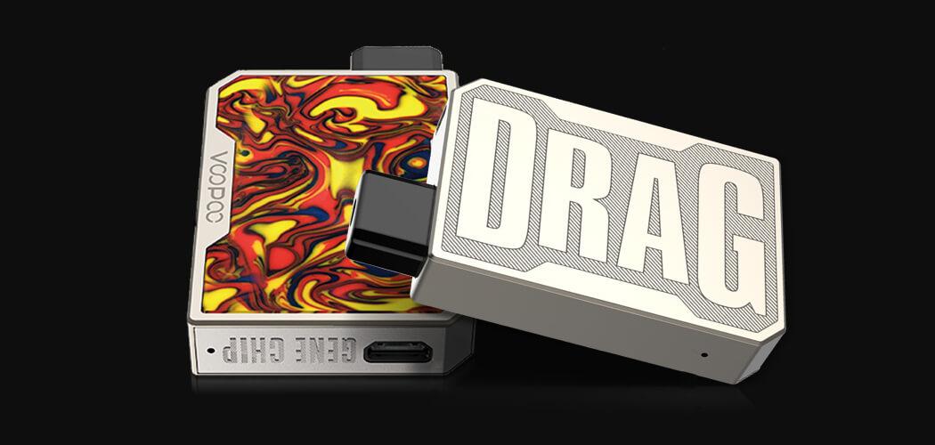 Design - Voopoo Drag Nano - elektronická cigareta