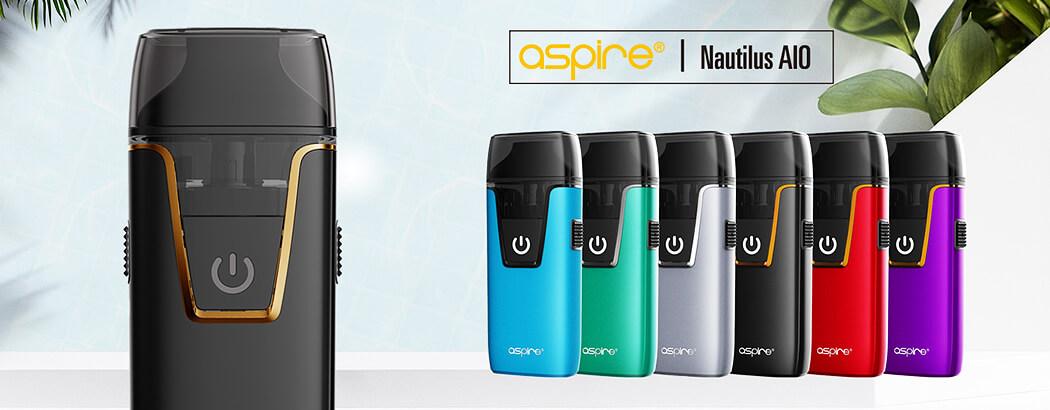 Recenze elektronické cigarety aSpire Nautilus AIO